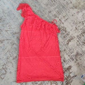 NWT woman's Lace dress love,fire
